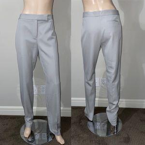 Brioni Gray Straight Leg Pants 8